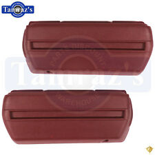 "68-72 GM A - B - F - X Body Arm Rest 11-1/2"" Base Armrest Bases Pr. RED"
