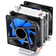 Dual Fan CPU Cooler Heatsink quiet 6mm heat pipe for Intel LGA775/1156/1155 AMD