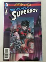 SUPERBOY FUTURES END #1 3D LENTICULAR MOTION COVER (2014) DC 52 COMICS NM