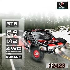 Original Wltoys 12423 1/12 2.4G Electric Brushed Short Course RTR RC Car M5H3