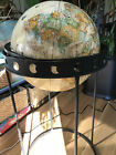 Vintage Replogle 16in globe with Eclipse or Moon floor stand