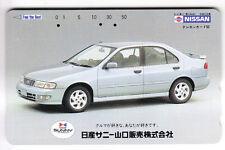 ASIE  TELECARTE / PHONECARD .. JAPON 50Y TELECA TAMURA AUTO CAR SUNNY NISSAN
