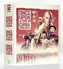 Once Upon A Time In China Trilogy  Limited Edition 4-Disc Blu-ray Box Set [New B