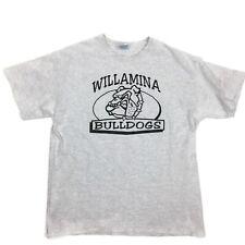 Hanes Heavyweight T Shirt Oregon Willamina High School Mascot Adult Size Large