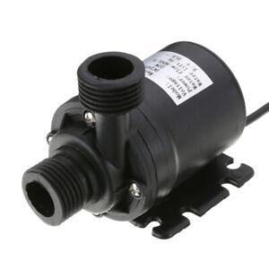 DC 24V 22W 800L/H Hot Water Circulation Pump Solar Water Pump Brushless Motor
