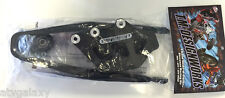 TM Designworks Chain Swingarm Slide N Guide Kit Kawasaki KX125 KX250 Black 97-08