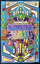 """Grateful Dead """"Pinball Machine"""" 3D Tapestry 60 x 90  - FREE PRIORITY MAIL"""