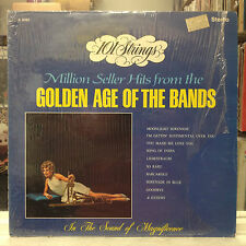 NM LP~101 STRINGS~The Golden Age of the Bands~ALLSHIRE Issue~STEREO~HEAR~~