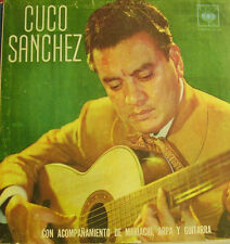 CUCO SANCHEZ-MISMO TITULO LP VINILO (COLOMBIA) REGULAR COVER-GOOD VINYL