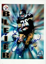 ROCKY BLEIER  PERSONALIZED STEELERS 8 X10 PHOTO