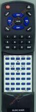 Replacement Remote for ECLIPSE AVN6600, AVN5495, AVN5510, CD5100, CD5000, CD2000
