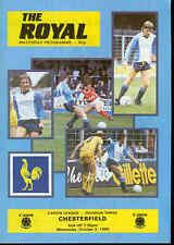 Football programme - Reading v Chesterfield Div 3 1985