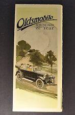 1920 Oldsmobile Model 37A Touring Cars Brochure Folder Excellent Original 20
