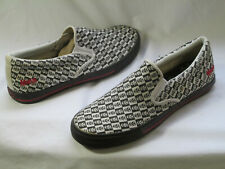Draven Misfits Checkered Fiend Slip On Shoes Mens Size 10.5 visions goth punk