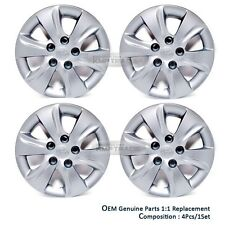 "OEM Auto Parts 15"" Wheel Cover Silver 5hole 4p For HYUNDAI 11 - 16 Elantra MD"