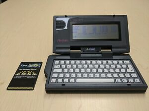 Atari Portfolio w File Manager, Wicked Clean Condition! Pocket Handheld Computer
