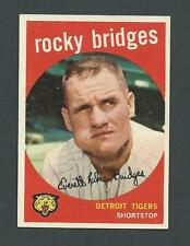 Rocky Bridges Detroit Tigers 1959 Topps Card #318
