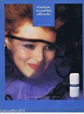 PUBLICITE ADVERTISING 095 1981 Molyneux Gauloise un parfum affranchi