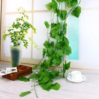 Artificiale Muro Appeso Arredamento Finta Edera Foglie Ghirlanda Verde piantare