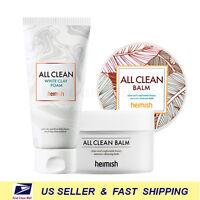 [ heimish ] All Clean White Clay Foam + All Clean Balm 120ml Set ++Renewed++
