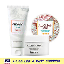 [ heimish ] All Clean White Clay Foam + All Clean Balm 120ml Set ++Renewed++