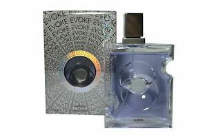 Evoke for Him Lavender Bergamot Woody Musky Powdery Eau De Parfum 90ml by Ajmal