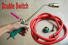 Flame Gun Jet Gas Butane Blow Torch Burner Weld Solder Iron Soldering Lighter
