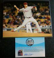 Kyle Kendrick PHILADELPHIA PHILLIES AUTOGRAPHED SIGNED  MLB 8x10 PHOTO HOLO COA