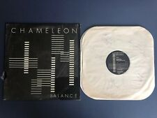 Chameleon Balance LP Vinyl Mpls Bar Band AOR Rock Signed by Yanni & Band Vg+/Vg+