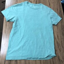 J Crew Mint Color Tee Shirt Size M #8889
