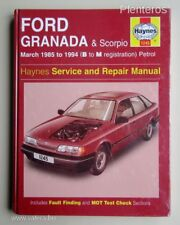 1245 Ford Granada inc Scorpio 1985 - 1994 Haynes Service and Repair Manual