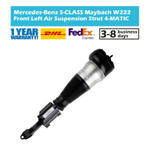 Air Suspension Strut Front Left Fit Mercedes W222 S500 S560 Maybach 4Matic 2015-