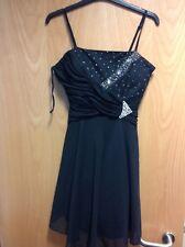 Pussycat London Black Strapless Dress, size 10, BNWT!