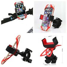 Supporto Smartphone per Bici Moto Porta Telefono Universale Elastico 360° NUOVO