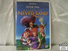 Return to Never Land (DVD, 2002)