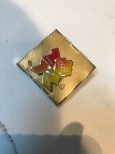 Londres 2012 olímpico Pin Pin Corbata. oro muy rara entre el PIN