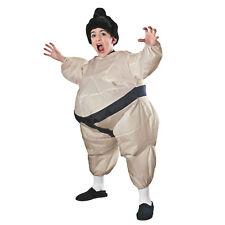 Child Inflatable Japanese Sumo Wrestler Fat Suit Kids Costume Jumpsuit