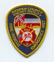 Kemper County Energy Facility Fire Rescue Department Patch Mississippi MS