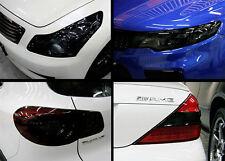 Scheinwerfer Folie Tönungsfolie Schwarz 100x30cm BMW E30 E36 E46 E90 Rückleuchte