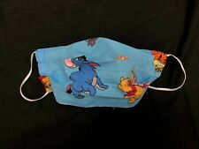 Winnie the Pooh Face Mask Washable, Reversible, 2 Layer Cotton