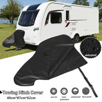 Waterproof Caravan Hitch Cover PVC Trailer Tow Ball Coupling Lock Breathable AU