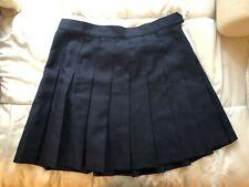 Vintage sold out American Apparel gabardine tennis skirt Large (patriot blue)