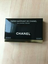 Chanel Blotting Paper (Oil Control Tissues) - 150 sheets with mirror and pouch