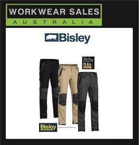 Bisley Flex And Move Mens Work pants Workpants Workwear BPC6130 Flex & move.