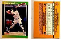 Shane Mack Signed 1989 Donruss #538 Card San Diego Padres Auto Autograph