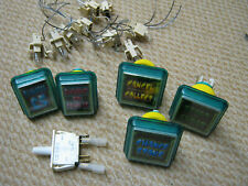 Job lot  fruit machine buttons and switches