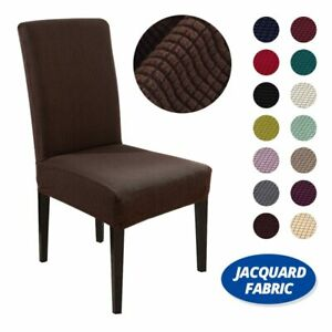 Jacquard Waterproof Elastic Chair Cover All-inclusive Stretch Solid Seat Cover