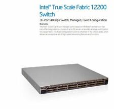 QLogic 12200 36-Port 40Gbps QDR InfiniBand Network Switch 12200-BS23