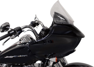 """Klock Werks Pro-Touring 12"""" Flare Tint Windshield for 15-20 Harley Road Glide"""