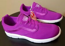 d8db235717 VANS Mens 5.5 Womens 7 ISO 1.5 Mesh Neon Purple Running Athletic SNEAKERS  Shoes